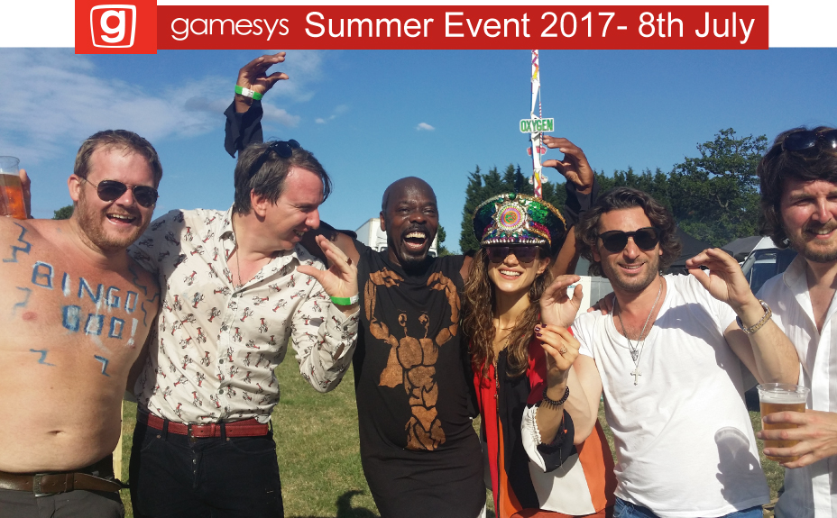 Gamesys Summer Event, Main Stage, 8 July 2017 live LEKIDDO - Lord of The Lobsters!