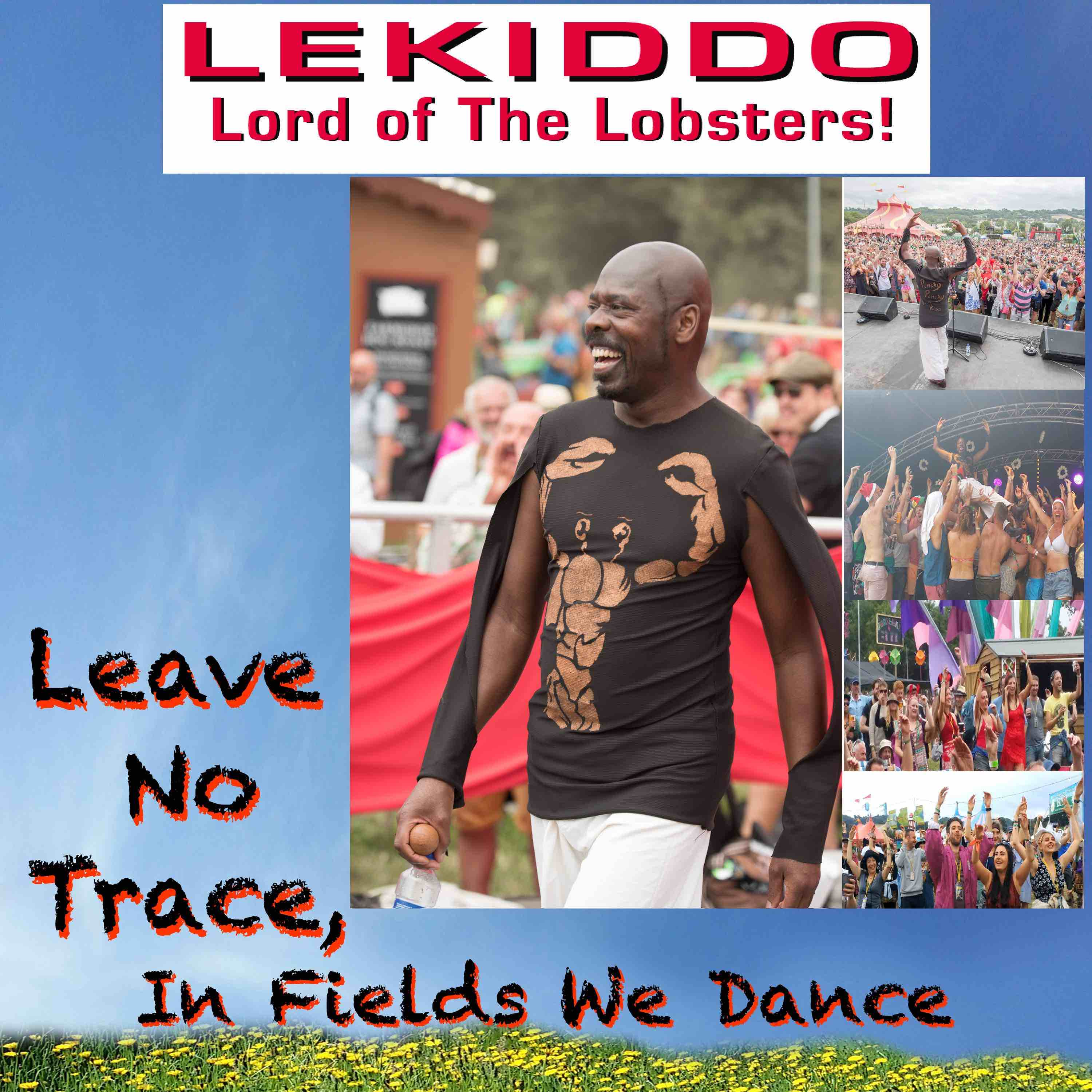 Out Now... #LeaveNoTrace,  LEAVE NO TRACE, IN FIELDS WE DANCE