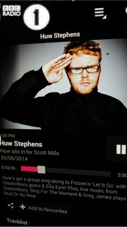 live Highlights from Glastonbury Festival 2014, BBC Radio 1 , Huw Stephens says: LEKIDDO - Lord of The Lobsters! ...he sounds AMAZING!!!